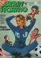 RIVISTA=GUERIN SPORTIVO=N°3 1978=GRACE JONES=ELVISMANIA=I GATTI=IL FILM DEL CAMP