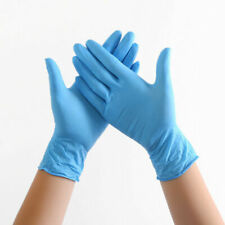 Pack of 20 Disposable Nitrite Gloves Powder,Latex Free ,Protective,One Size