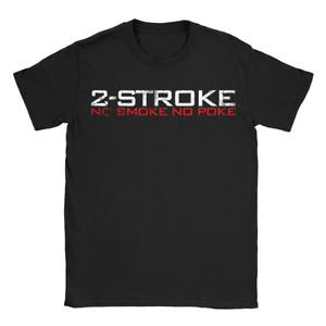 2-Stroke Mens T-Shirt Mens Racing Motor Bike Gift Biker For Dad Uncle