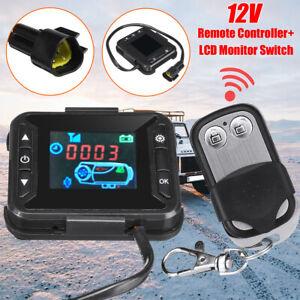 AU Car Air Diesel Heater RV 12V LCD Monitor Controller Switch+Remote Control ¨