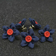 2pcs Fashion Men Women Suits Boutonniere Stick Brooches Wedding Party Brooch New