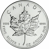 1996 Silver Maple Leaf - Canada - Canadian 1 oz Gorgeous coin, VERY RARE YEAR