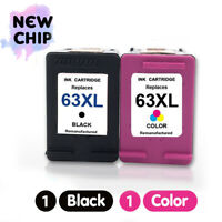Combo Ink Cartridges for HP 63XL Officejet 5255 5258-NEW CHIP