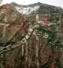 Mossy Oak Men's Break-Up Country Infinity Graphic woodland Camo T-Shirt Size XL