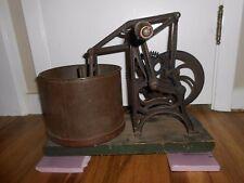 ANTIQUE 1850 or 1860s Gear Driven STARRETT FOOD CHOPPER HASHER