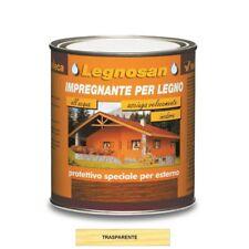 Impregnante Legno Acqua Legnosan Veleca Trasparente 750 Ml Semi-Lucido