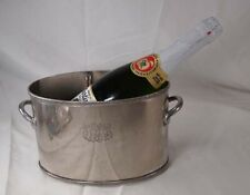 Vintage Champagne Ice Bucket/Cooler  Chassed Design on front