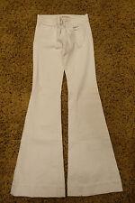 J Brand Flared White Jean Size 25
