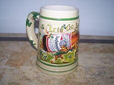 "Budweiser ""Erin Go Budweiser""1998 St.Patricks Day Stein Beer Mug"
