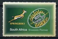 South Africa Rugby Stamps 2020 MNH World Champions 2019 Sports Springboks 1v S/A