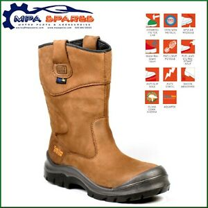 NO RISK HAWICK - COMPOSITE TOE CAP - PROTECTIVE MIDSOLE -  SAFETY RIGGER BOOT