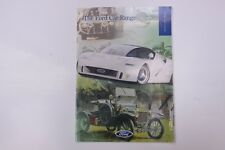 Ford Car Range Sales Brochure 1996 1st Edition