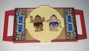 TOMY PARTYMATE SUMO WRESTLING WIND UP GAME 1980/2005