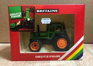 BRITAINS DEUTZ FAHR TRACTOR MODEL 9530 . MINT CONDITION AND WITH ORIGINAL BOX