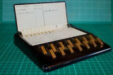 Vintage Telephone Directory 1950s Era Bakelite Address Book Plastic G W Corson
