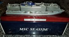 MSC Cruise Line MSC SEASIDE Cruise Metal Ship Model