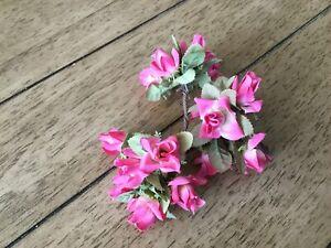 Vintage Pink Roses Artificial Flowers