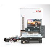 AEG Autoradio AR 4026 7-Zoll-Monitor LCD/DVD/BT/USB... + Defekt (230446)