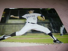 Andrew Morales Uc Irvine Anteaters Signed 8x10 Photo 2014 College World Series