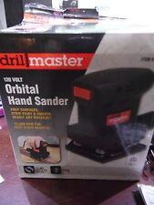 ORBITAL HAND Sander Drill Master 61509, 12,000 Orbits/Minute Corded Electric NEW