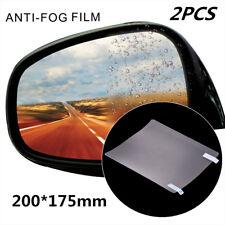 2x Regenschutz Auto Außenspiegel Folie Rückspiegel Wasserabstoßender 200*175mm