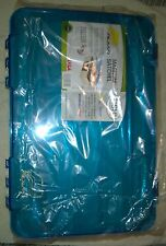 Plano Mangnum Satchel Fishing Spinnerbait Racks Storage Duraview Tackle Box NEW