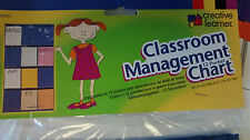 Creative Learning  Classroom Management 12 Pocket Chart Color Blue