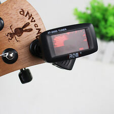 AT-200D Chromatic Digital Tuner For Electric Guitar Bass Violin Ukulele Clip On