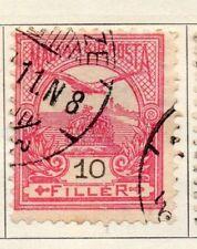 Hungría 1900 antiguo problema Fine Used 10f. 104367