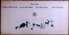 ENZO MARI DANESE - IL GIOCO DELLE FAVOLE - THE FABLE GAME - PUZZLE -RARE-VINTAGE