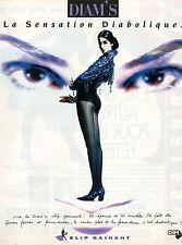 Publicité Advertising 1991 Lingerie DIM collants slip gainant bas DIAM'S