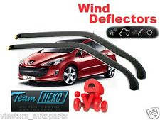 Peugeot 308  2007 - 2012 5.doors Wind deflectors 2.pc HEKO 26131 for FRONT DOORS