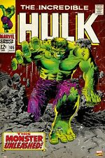 INCREDIBLE HULK ~ 105 UNLEASHED 24x36 ART POSTER Marie Severin Marvel Comic Book