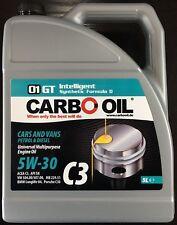 5L CARBO OIL MOTOR ÖL 5W-30 Voll Synthetisch VW 504/507 BMW LL-04 MB 229.51