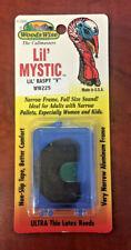 """Woods Wise Ww225 Mystic Diaphragm Turkey Mouth Call Lil' Raspy """"V"""" - New"""