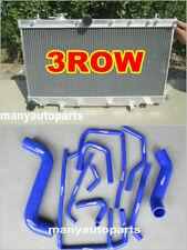 For Subaru Impreza WRX STI GG GD 1.6L/2.0L/2.5L 02-07 Aluminum Radiator&BLU Hose