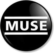 "MUSE 25mm 1"" Pin Button Badge Epic Rock Band Music Matthew Bellamy Alternative"