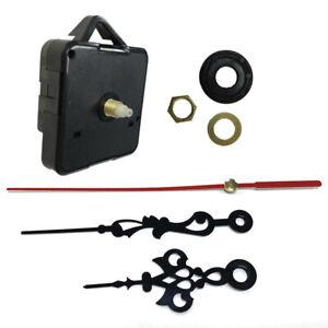 UK Quartz Wall Clock Movement Mechanism Repair Replace Battery Operated DIY Tool