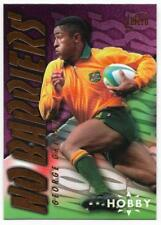 1996 Futera Rugby Union NO BARRIERS (NB3) George GREGAN Sample Hobby