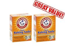 Arm and Hammer Pure Baking Soda 227g (2 BOXES)   SALE!!   ONLY £3.00 PER BOX!