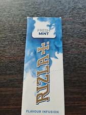25 Rizla Fresh Mint Aroma Cards / Flavor Infusion - Neu & Ovp
