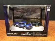Greenlight Hot Pursuit Diorama Wisconsin State Patrol Dela0815