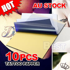 10 Pcs 4 Layers A4 Size Carbon Stencil Thermal Tattoo Transfer Paper Copier Kit