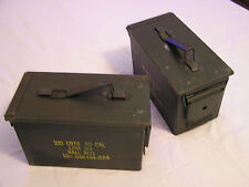 2 - 50 Cal Ammo Cans