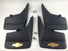 2007-2013 SILVERADO MOLDED SPLASH GUARDS MUD FLAPS FRONT & REAR OEM GM