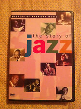 THE STORY OF JAZZ DVD THELONIOUS MONK  MILES DAVIS