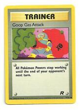 Goop Gas Attack Pokemon Team Rocket Individual Card (78/82) - NM/M Condition