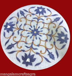 "24"" Marble Coffee Table Handmade Pietra dura Art Work Home Decor"