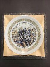"1975 D'arceau Limoges Lafayette Legacy Collection Plate #6 #487 8.5"" W/ Coo(Coa)"