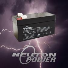 Neuton Power NP1213 12v 1.3ah SLA AGM Battery for Alarm System Toy UPS Security